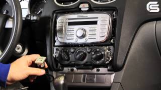 Installation of 6000CD MP3+USB OEM Stereo for Ford