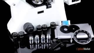 Обзор металлографического микроскопа Ulab MET-4T