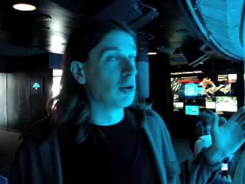 Friday 5-1-09 : Fun at the Aquarium (Around the town vlog)