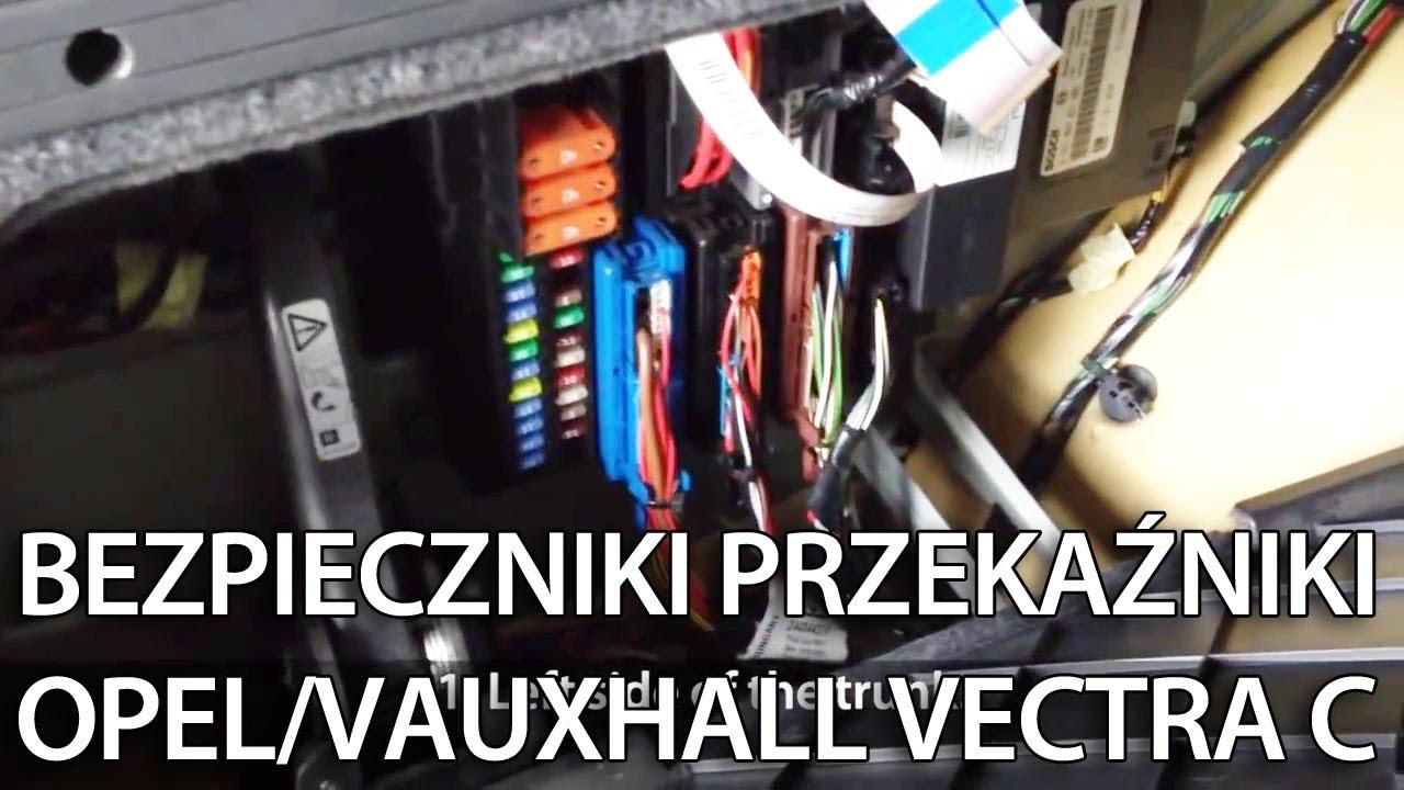 medium resolution of gdzie s u0105 bezpieczniki i przeka u017aniki w opel vectra c vauxhall combo wiring diagram pdf vauxhall combo van wiring diagram