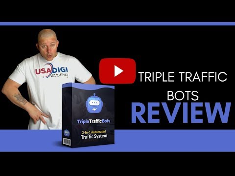 Triple Traffic Bots Review And Bonus