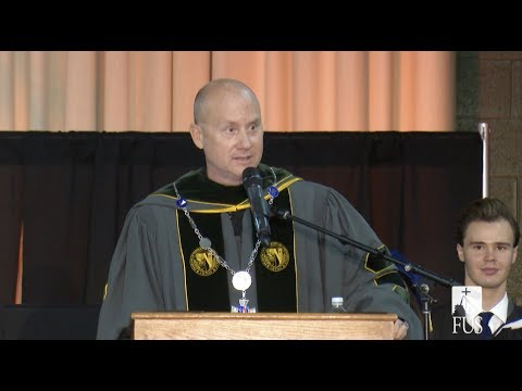 The Inaugural Address of Father Dave Pivonka, TOR