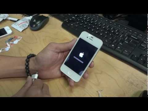 How to Activate your Factory unlock iPhone 4 , 4S , 5 , 5C , 5S option 2