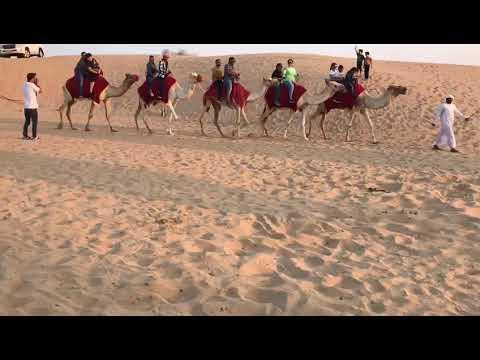First time namin sumakay sa camel | Dubai Desert Safari | 2019