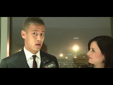 AC Milan I Le prime parole in rossonero di Keisuke Honda #WelcomeHonda