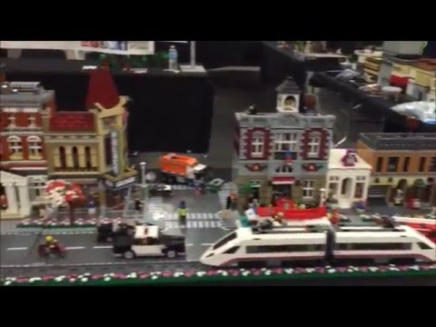Houston BrickFestLive 2016 Display