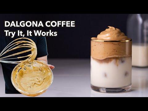 CARA MEMBUAT DALGONA COFFEE 100% BERHASIL (How To Make ...