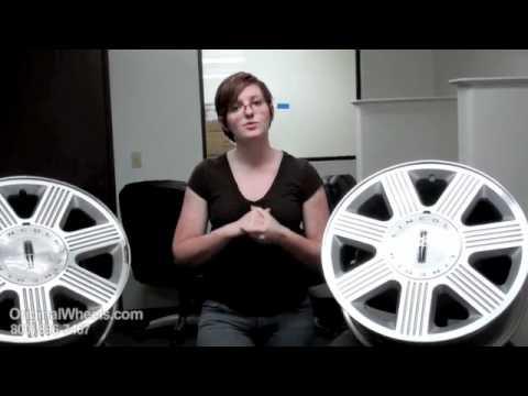 Mks Rims Mks Wheels Video Of Lincoln Factory Original Oem
