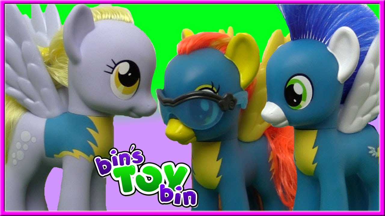 Wonderbolts Spitfire Soarin Derpy Rainbow Dash My Little Pony Fashion Style Bin 39 S Toy Bin