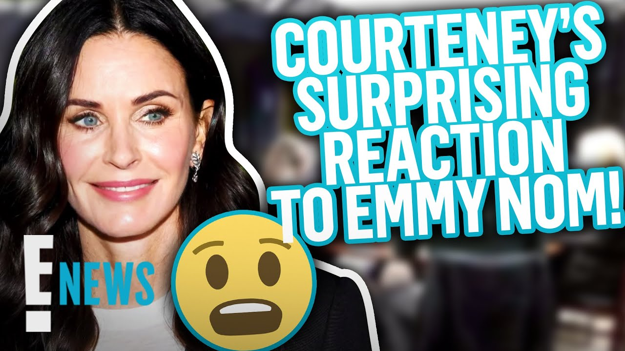 Courteney Cox's Reunion Emmy Nom Isn't What She Was