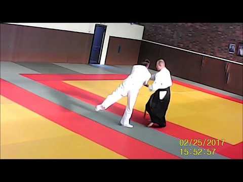 Ryote dori 3  association aikido longjumeau Yves BUSSER