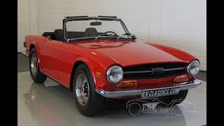 Triumph TR6 Roadster 1970 - VIDEO - www.ERclassics.com