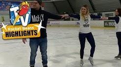 Rocket Beans on Ice: Eislauftraining mit den Bohnen | Rocket Beans Highlights