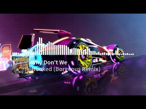 Download Why Don't We - Hooked (Borgeous Remix) - Monstercat Visualizer