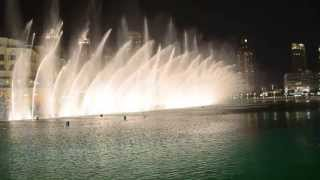 I Will Always Love You ( water show) Dubai Mall