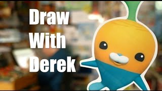 Learn How to Draw the Vegimals from the Octonauts!