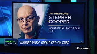 Download Warner Music CEO Stephen Cooper on decision to re-enter public markets