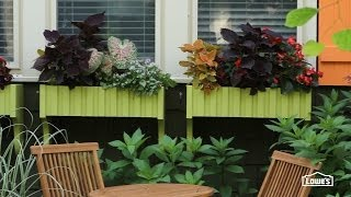 Make Window Boxes For Container Gardening