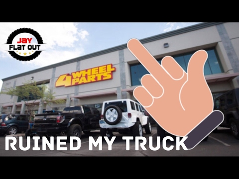 That Time 4 Wheel Parts Ruined My Truck Cummins Build By Jay Flat Out Youtube