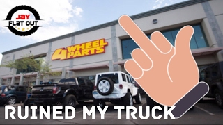That Time 4 Wheel Parts Ruined My Truck - Cummins Build by Jay Flat Out