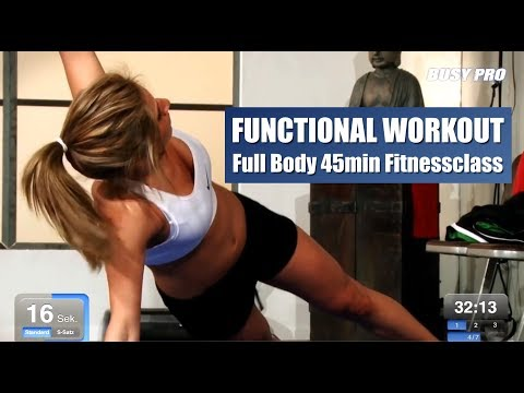 Functional Workout 45min Full Body Fitnessclass