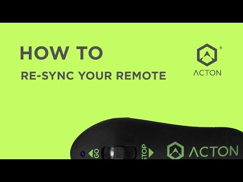How to Re-sync your remote