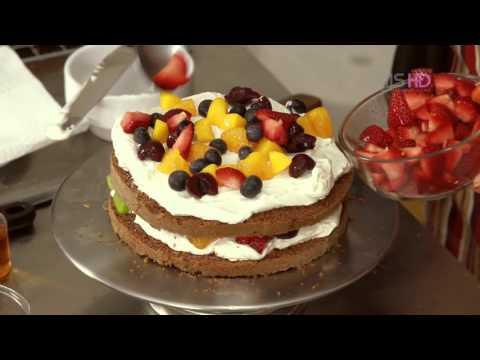 MISbook - เค้กอร่อย สูตรไขมันต่ำ - เค้กช็อกโกแลต ผลไม้สด - Step 3
