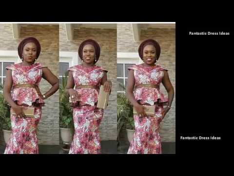 Eye Catching Ladies DRESS Styles - African Trendy Fashions