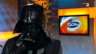 Stefan Gödde als Darth Vader bei Galileo 15.2.2013