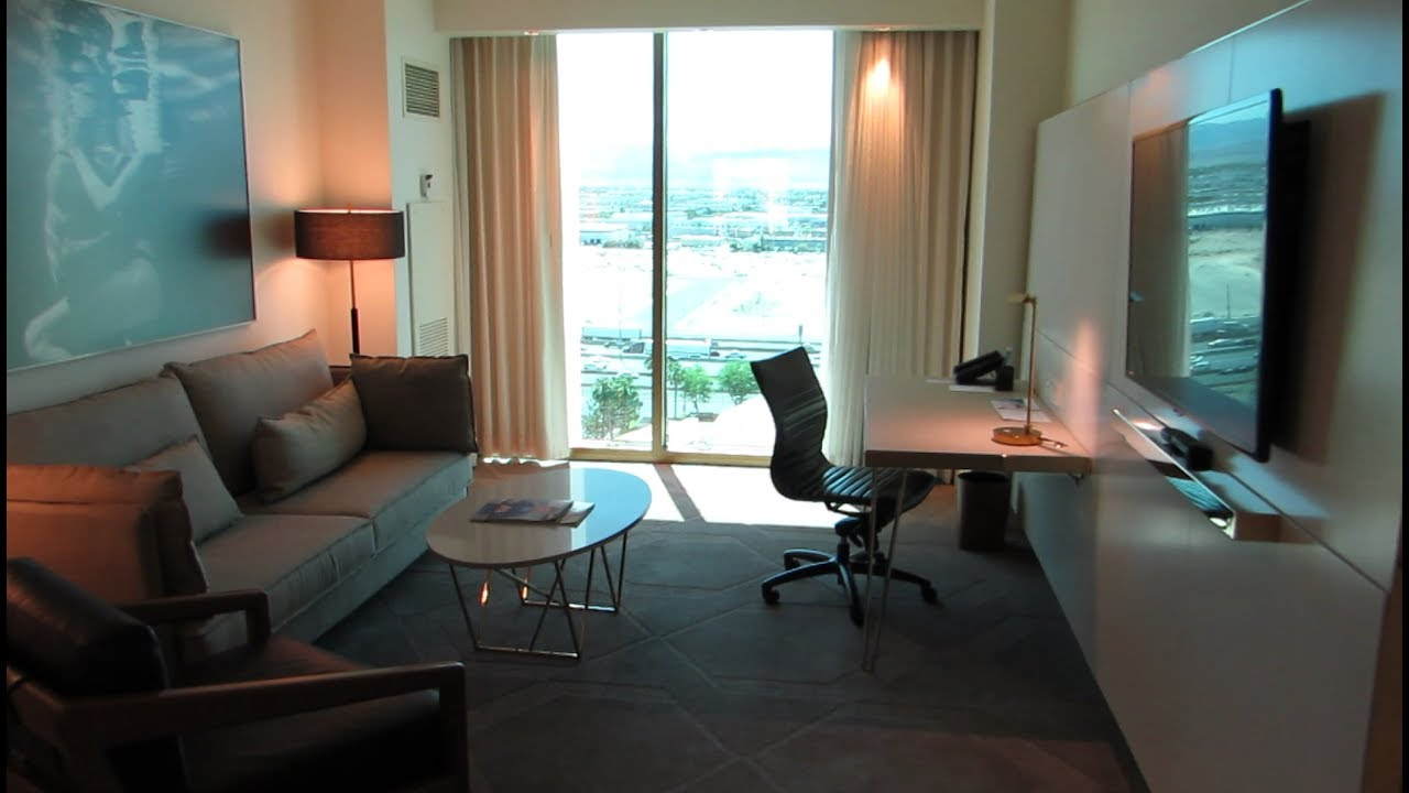 2 Bedroom Suite Delano Las Vegas Youtube