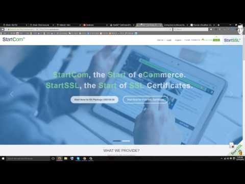 How To Create An SSL Certificate For Free StartSSL [Not Cloudflare]