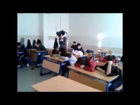 Kaman Fen Lisesi 9-B HARLEM SHAKE :D