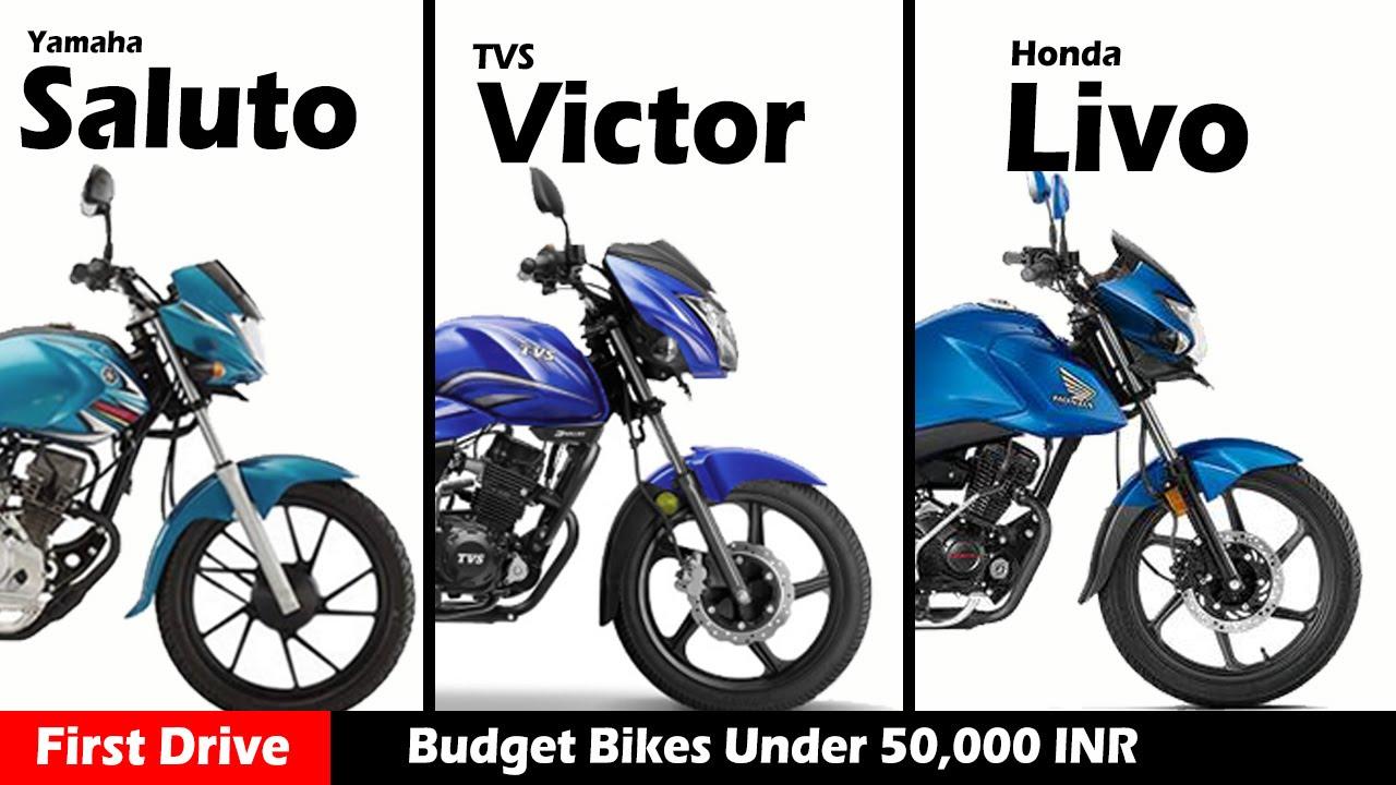 Budget Bike Honda Livo Vs Yamaha Saluto Vs Tvs Victor Compare