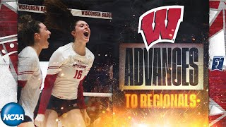 Wisconsin v. UCLA: Second round in 2019 NCAA women''s volleyball tournament