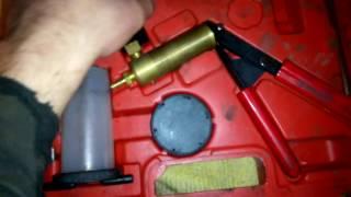 обзор пистолета для прокачки тормозов