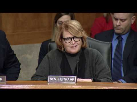 At Senate Hearing, Heitkamp Holds Backpage Accountable for its Role to Facilitate Human Trafficking