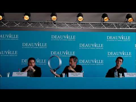 [Deauville 2016] War Dogs press conference with Jonah Hill, Miles Teller, Todd Phillips