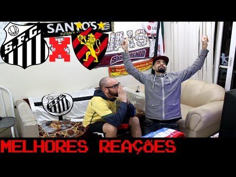 REAÇÕES: Santos 0 x 1 Sport – Brasileirão – OS RIVAIS