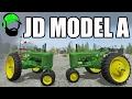Farming Simulator 17 Mod - 1947 John Deere Model A  -#FS17