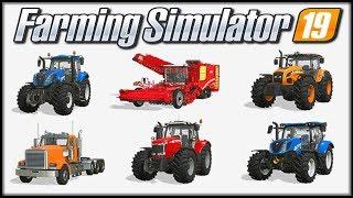 Farming Simulator 19 - Pokaz maszyn na oficjalnej stronie | (cz.2)
