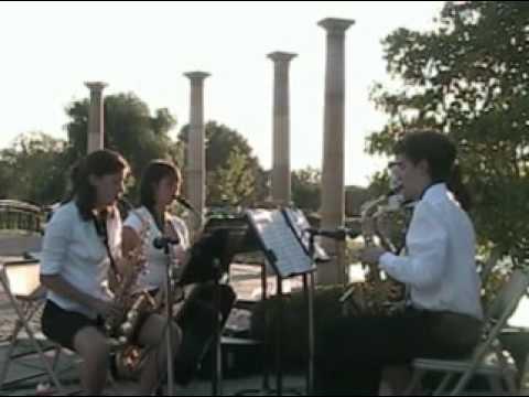 Boccherini: Minuet, Cousino High School Saxophone ...