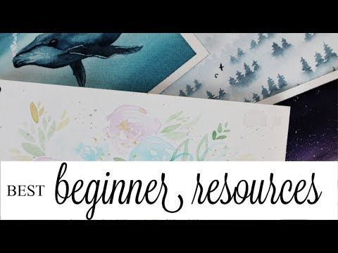 I'M BAD AT WATERCOLOR (VOSTFR) | Part 3 - Beginner Books And Tutorials