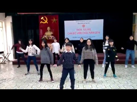 Flashmob Ai cũng có ước mơ - Trường Lê Duẩn 2016