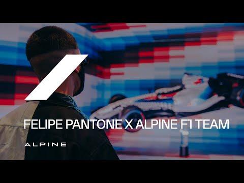 Felipe Pantone x Alpine F1 Team