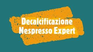 Guida Per Fare La Decalcificazione Della Nespresso Expert E Avere Sempre Un Caffè Ottimo.
