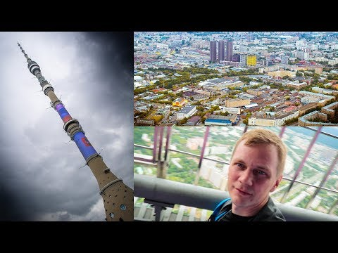 Getting on top of Moscow TV Tower