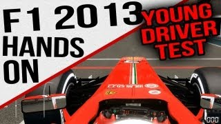 F1 2013 First Play - Young Driver Test