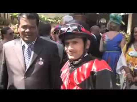 THE INTERNATIONAL JOCKEYS WEEKEND FROM MAURITIUS ON THE WINNING POST