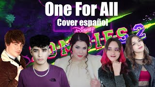 One for all-Zombies 2/Amanda Flores, Marc Winslow, Hitomi Flor, Kevin Ramos y Mishi Chwan (Cover)