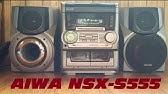 Музыкальный центр aiwa nsx s555 на русском инструкция